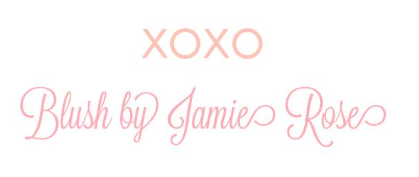 XOXO Blush by Jamie Rose